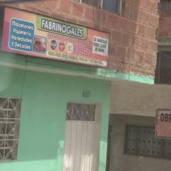 Fabrinogales en Bogotá