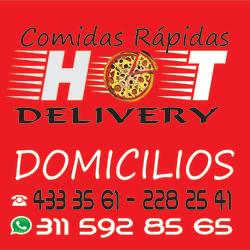 comidas rapidas hot delivery en Bogotá
