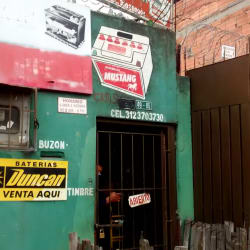 Baterias Mustang en Bogotá