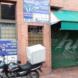 Llaves Mazuren en Bogotá