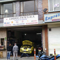 Lubricantes H.A en Bogotá