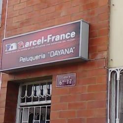 """Marcel France """"Dayana"""" en Bogotá"""
