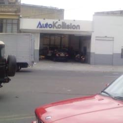 Autokllisionsas en Bogotá