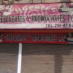 Descuentos y promociones t.g en Bogotá