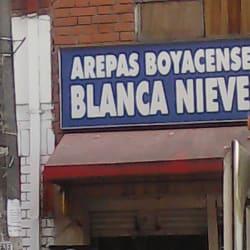 Arepas Boyacenses Blanca Nieves en Bogotá