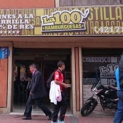 La 100 Hamburguesas Carrera 100 en Bogotá