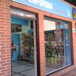 Tiendas Enforma Show Place en Bogotá