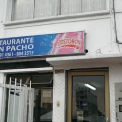 Restaurante Don pancho en Bogotá