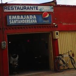 Restaurante Embajada Santandereana en Bogotá