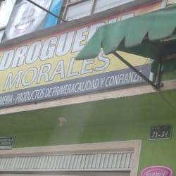 Drogueria Morales en Bogotá