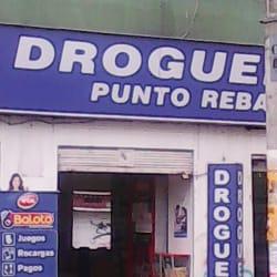 Droguerias punto rebajas en Bogotá