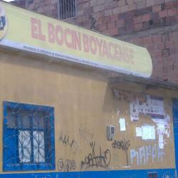 El Bocin Boyacense en Bogotá