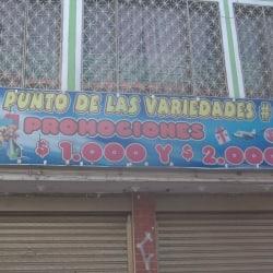 El Punto de las Variedades en Bogotá