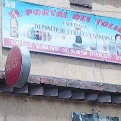 El portal del tolima cafeteria en Bogotá