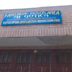 Papelería y Miscelanea Mi Gótica  en Bogotá
