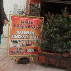 Cafe las Nieves en Bogotá