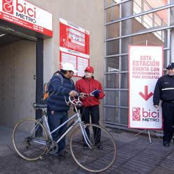 Bicimetro Estación Blanqueado en Santiago