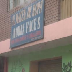 Almacen de Ropa Moda Face´s en Bogotá