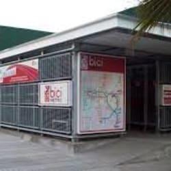 Bicimetro Estación Grecia en Santiago