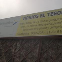 Vidrios El Tesoro en Bogotá