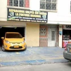 Reparamos Golpes Sin dañar la pintura Original Prado Pinturas en Bogotá