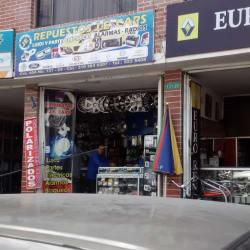 Repuestos J.E Cars en Bogotá