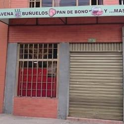 Avena,Buñuelo,Pan de bono y más en Bogotá