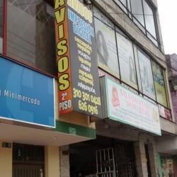 Avisos Calle 138 en Bogotá