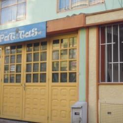 Pet - Shop Patitas en Bogotá
