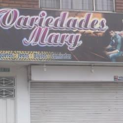 Variedades Mary en Bogotá