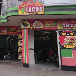Que Tacos Gourmet en Bogotá