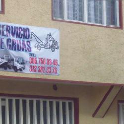 Servicio de Gruas en Bogotá