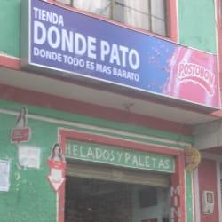 Tienda Donde Pato en Bogotá