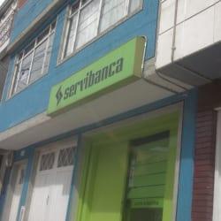 Cajero Servibanca Carrera 19G en Bogotá