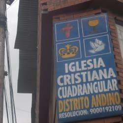 Iglesia Cristiana Cuadrangular Carrera 19D en Bogotá