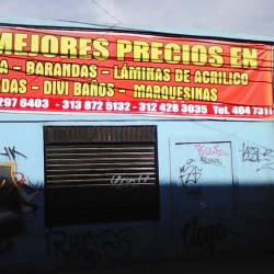 Aluminios y Acrilicos Mv en Bogotá
