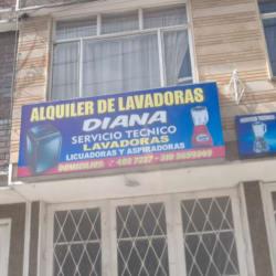 Aquiler de Lavadoras Diana en Bogotá