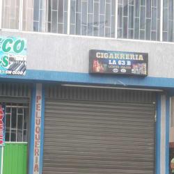 Cigarreria la 63 B en Bogotá