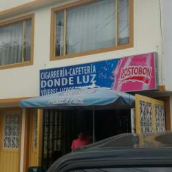 Cigarreria Cafeteria Donde Luz en Bogotá