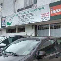 Clinica Protectora de Animales Doctores Martinez en Bogotá