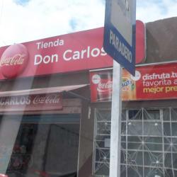 Tienda Don Carlos en Bogotá