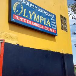 Overoles y Dotaciones Olympia en Bogotá