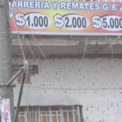 Cacharreria y Remates G & A en Bogotá