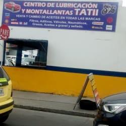Centro de Lubricacion y Montallantas Tatii en Bogotá