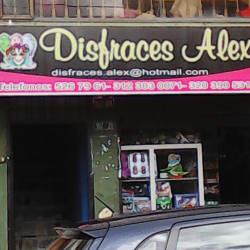 Disfraces Alex en Bogotá