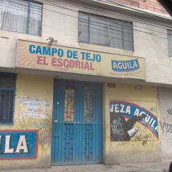 Campo de Tejo El Escorial en Bogotá