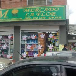 Mercado La Flor en Bogotá