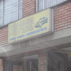 Lujos Pereira en Bogotá