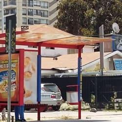 Paradero Transantiago PC125 en Santiago