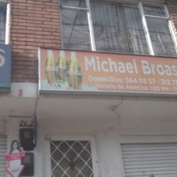 Michael Broaster en Bogotá